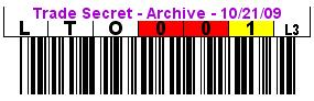 Image of Trade Secret Signature Label